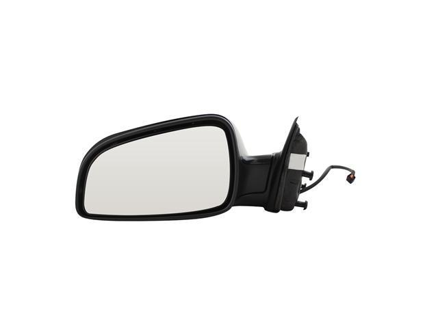 Pilot 08-10 Chevrolet Malibu LT Model 08-10 Chevrolet Malibu Hybrid 07-10 Saturn Aura 07-09 Saturn Aura Hybrid Power Non Heated Mirror Left Black Smooth CV839410AL