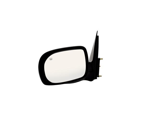 Pilot Power Heated Mirror Left Black Smooth 1380142