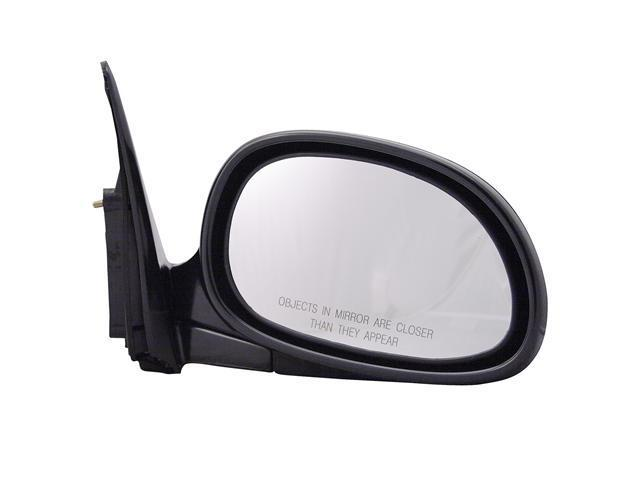 Pilot 93-95 Honda Civic Coupe 92-95 Honda Civic Hatchback Power Non Heated Mirror Right Black Smooth 4710121