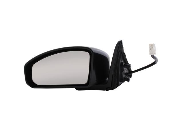 Pilot 03-07 Infiniti G35 Coupe Power Heated Mirror Left Black Smooth IN409410CL