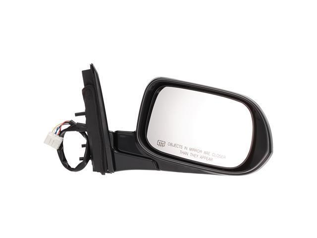 Pilot 05-07 Honda Accord Hybrid Power Heated Mirror Right Black Smooth HD349410DR