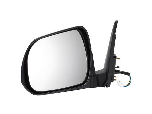 Pilot 08-10 Toyota Highlander Base, Sport Model Power Heated Mirror Left Black Smooth TYP19410AL