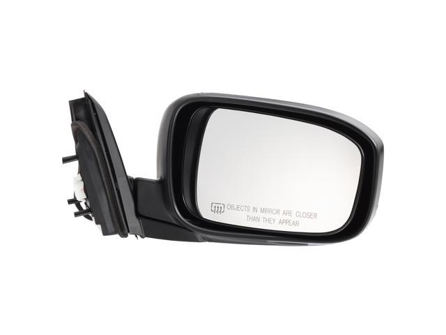 Pilot 03-07 Honda Accord Coupe Power Non Heated Mirror Right Black Smooth HD349410ER