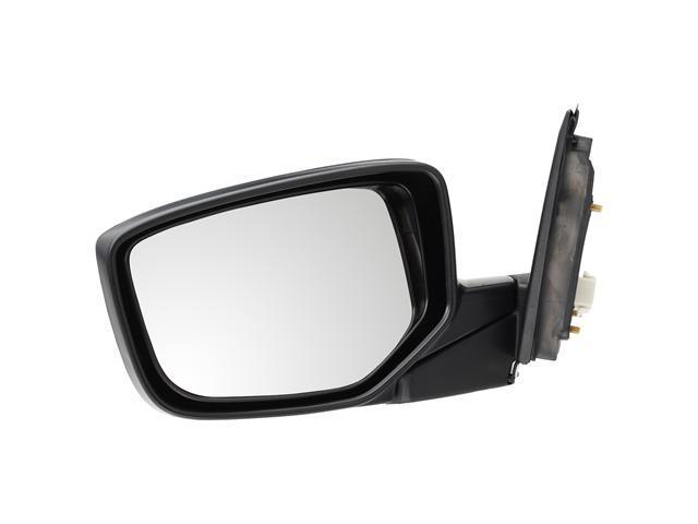 Pilot 08-10 Honda Accord Sedan USA Built Power Non Heated Mirror Left Black Smooth HD3594100L