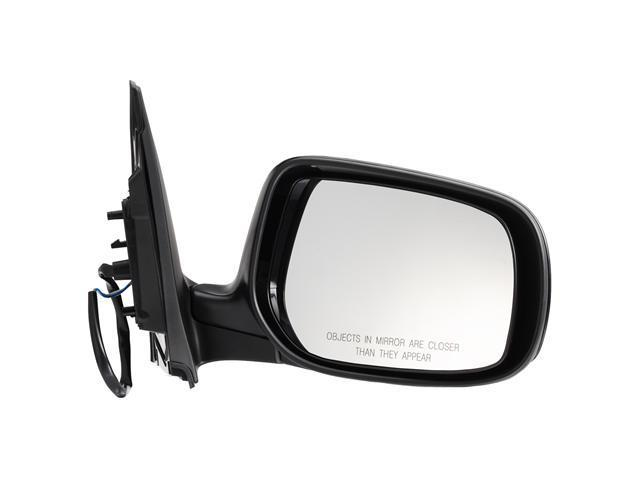 Pilot 09-10 Toyota Corolla USA Built Power Non Heated Mirror Right Black Smooth TY4894100R