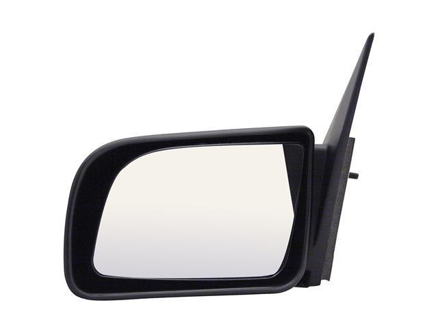 Pilot 87-94 Dodge Shadow 92-94 Plymouth Duster 87-94 Plymouth Sundance Manual Remote Mirror Left Black Smooth 3760022