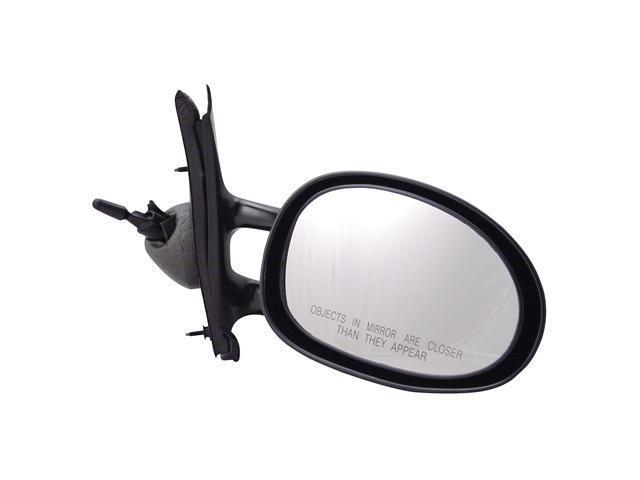 Pilot 95-00 Chrysler Cirrus 95-00 Dodge Stratus 96-00 Plymouth Breeze Manual Remote Mirror Right Black Smooth 3780011