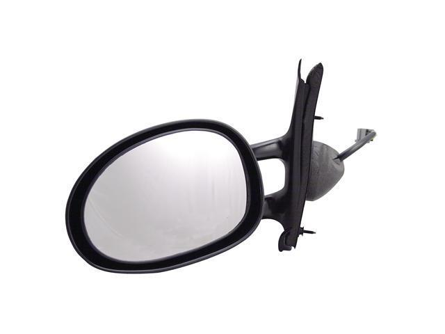 Pilot 95-00 Chrysler Cirrus 95-00 Dodge Stratus 96-00 Plymouth Breeze Power Heated Mirror Left Black Smooth 3780032