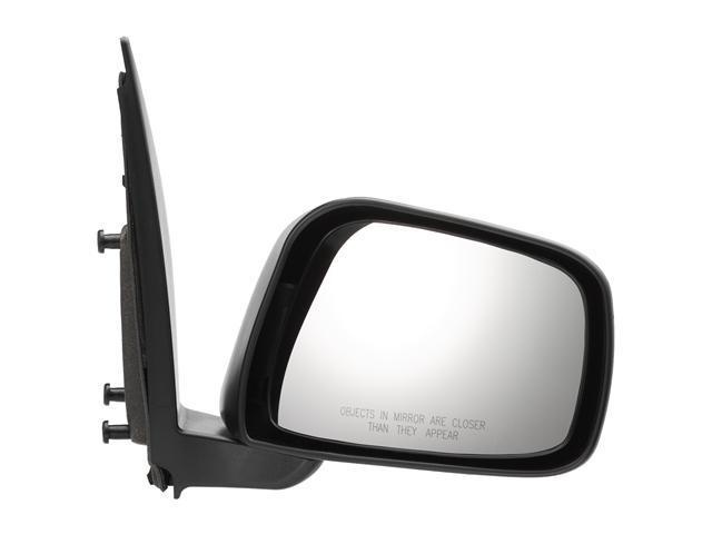 Pilot 05-10 Nissan Frontier XE, SE, Nismo Model Ext 05-10 Nissan Frontier SE, Nismo Model Crew Cab 05-10 Nissan Xterra Manual Mirror Right Black Textured NSL194100R