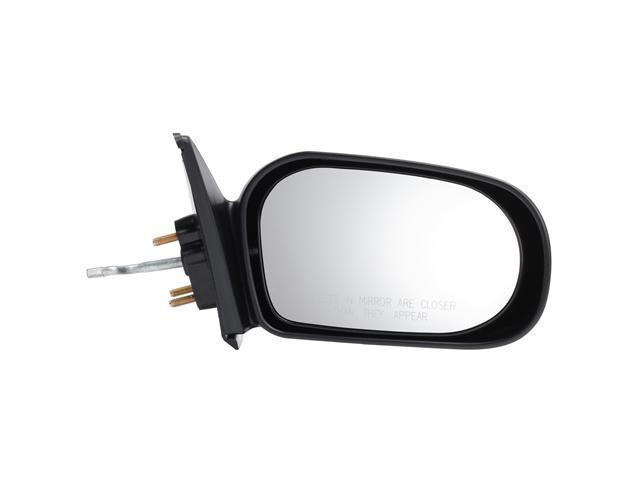 Pilot 95-96 Toyota Tercel Murakami Brand Manual Remote Mirror Right Black Textured TY529410CR