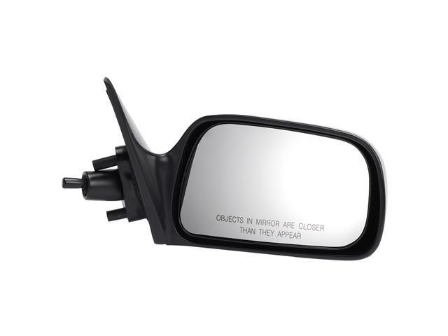 Pilot 97-01 Toyota Camry Japan Built Manual Remote Mirror Right Black Smooth TY629410DR