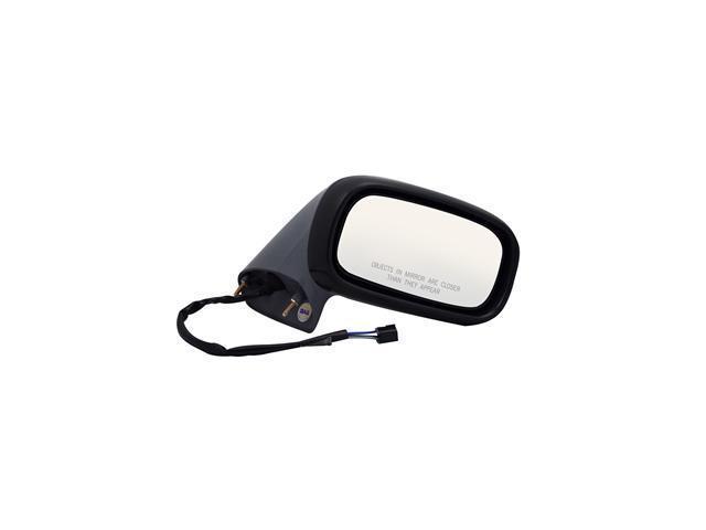 Pilot 92-99 Pontiac Bonneville Power Non Heated Mirror Right Black Smooth 1800131