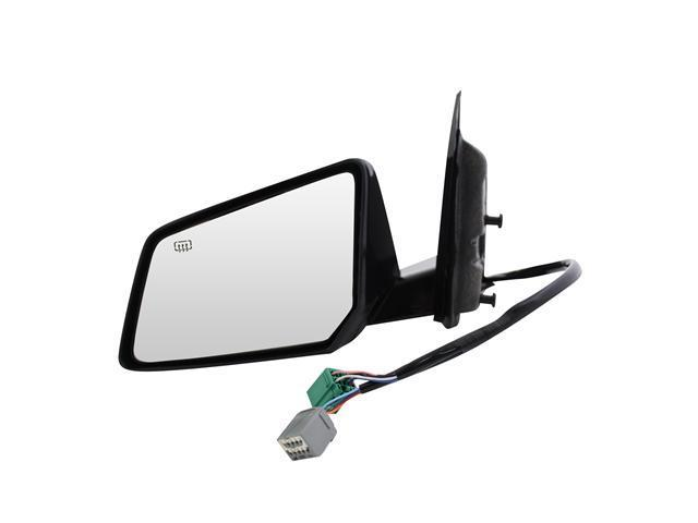 Pilot 07-08 Saturn Outlook w/ Power Folding 2008 1st Design 07-08 GMC Acadia w/ Power Folding 2008 1st Design Power Heated Mirror Left Black Smooth ST109410BL