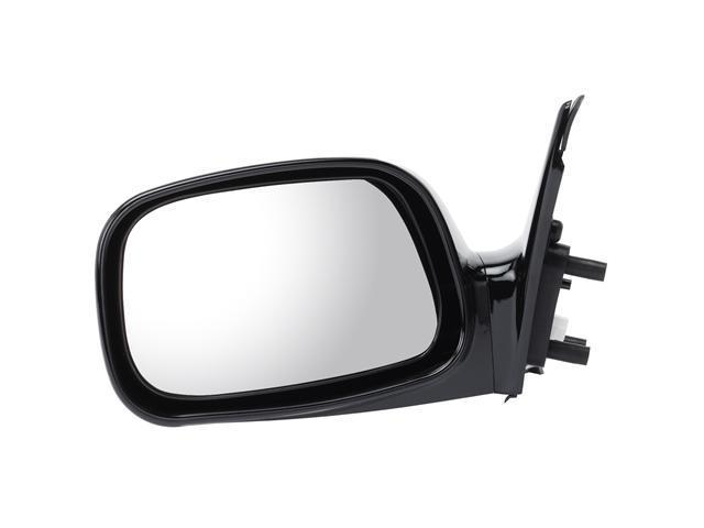 Pilot 02-06 Toyota Camry Japan Built Power Heated Mirror Left Black Smooth TY639410EL