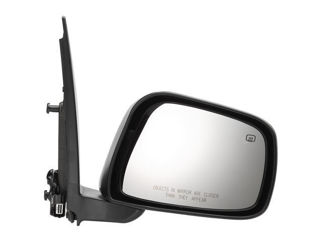 Pilot 05-10 Nissan Frontier LE Model Crew Cab Power Heated Mirror Right Black Textured NSL19410DR