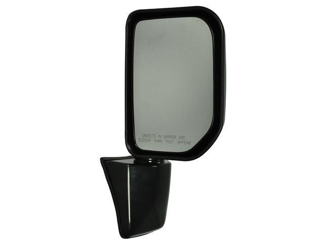 Pilot 07-09 Toyota FJ Cruiser w/o Special Edition Package w/ Puddle Lamp Power Heated Mirror Right Black Smooth TYW094100R