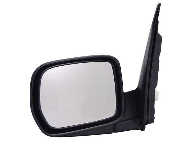 Pilot 03-08 Honda Pilot LX Model Power Non Heated Mirror Left Black Smooth 4790032