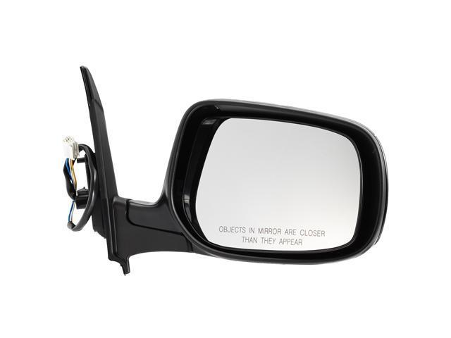 Pilot 09-10 Toyota Matrix Power Non Heated Mirror Right Black Smooth TYZ194100R