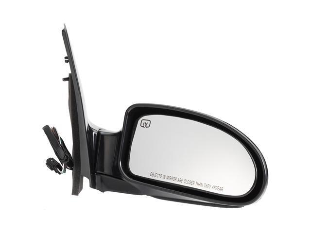Pilot 02-04 Ford Focus SVT Model 05-07 Ford Focus ST Model Power Heated Mirror Right Black Smooth FDM09410DR