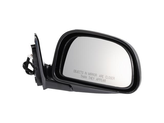 Pilot 93-96 Mitsubishi Mirage Sedan Power Non Heated Mirror Right Black Smooth MB019410BR
