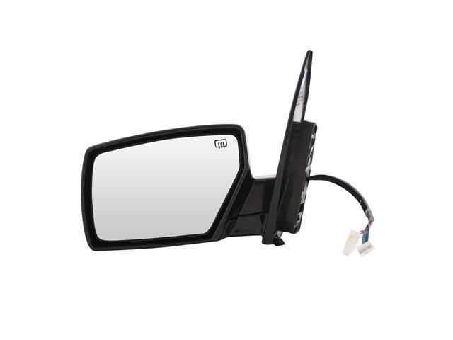 Pilot 06-06 Nissan Quest SL, SL Special Edition Model w/ Puddle Lamp Power Heated Mirror Left Black Smooth NSP29410BL