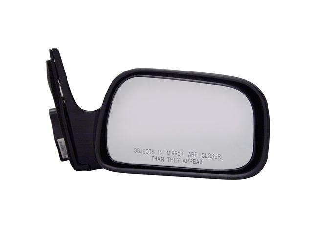Pilot 92-96 Toyota Camry Manual Mirror Right Black Smooth 5210011