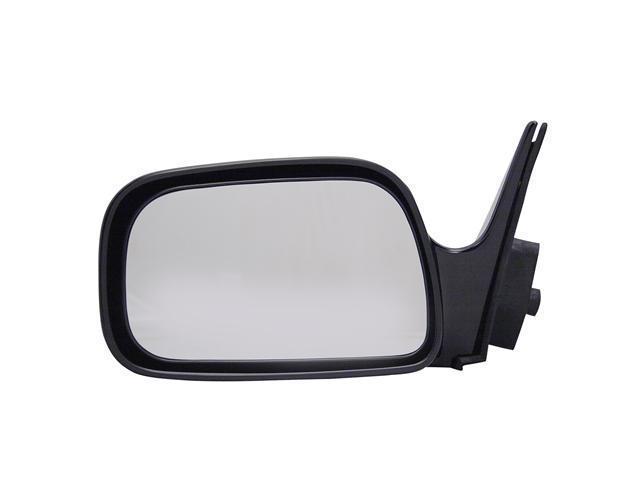 Pilot 92-96 Toyota Camry Manual Mirror Left Black Smooth 5210012