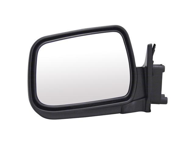 Pilot 01-04 Nissan Frontier 3.3L Engine 98-00 Nissan Frontier 02-04 Nissan Xterra XE Model 3.3L Engine 00-01 Nissan Xterra SE Model Manual Mirror Left Black Textured 5730112