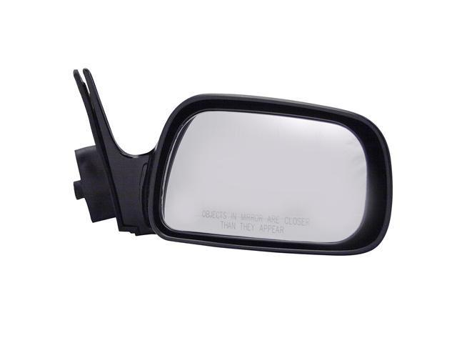 Pilot 92-96 Toyota Camry USA Built 92-96 Toyota Camry Japan Built Power Non Heated Mirror Right Black Smooth 5210431
