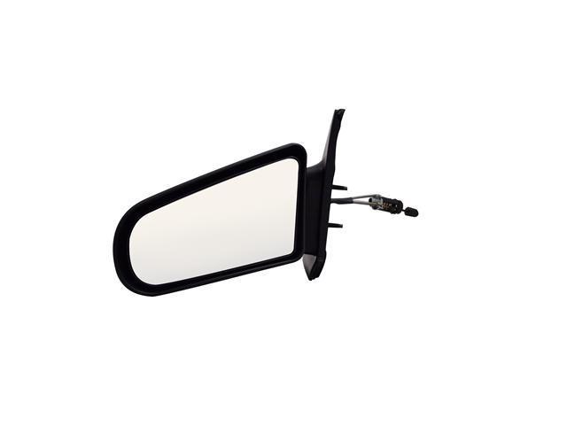 Pilot 91-92 Saturn SC Coupe 93-96 Saturn SC1, SC2 Coupe Manual Remote Mirror Left Black Smooth 2000012