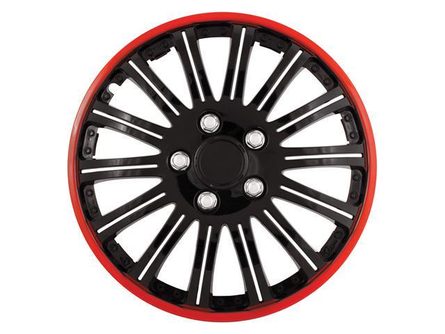 Pilot Cobra Black Chrome With Red Accent 16' Wheel Cover WH527-16RE-BX