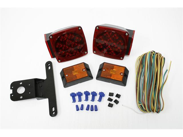 MAXXTOW 12V LED Trailer Light Kit 70205-CLM