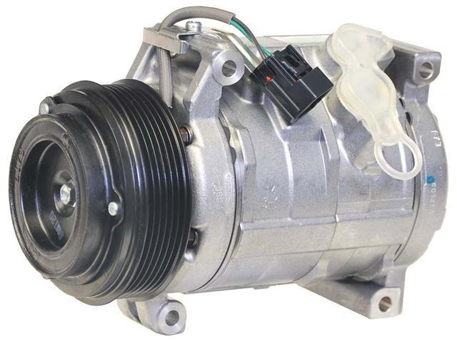 Denso 08-10 Buick Enclave/09-10 Chevrolet Traverse/07-10 GMC Acadia/07-10 Saturn Outlook A/C Compressor 471-0705