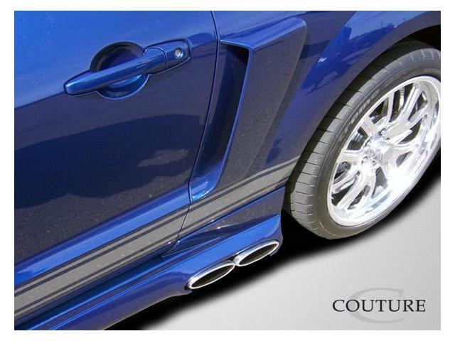 Couture 2005-2009 Ford Mustang CVX Side Scoops 104798
