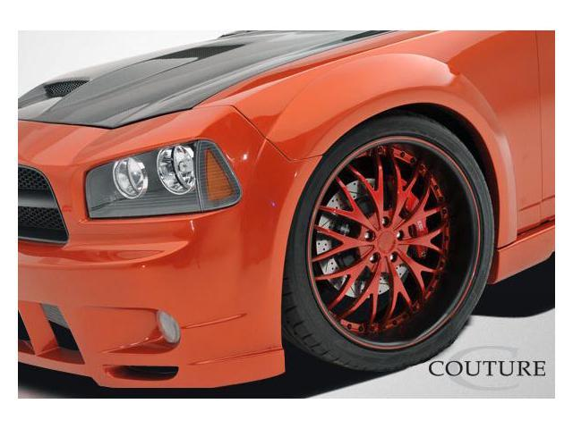 Couture 2006-2010 Dodge Charger Luxe Wide Body Front Fender Flares 104815