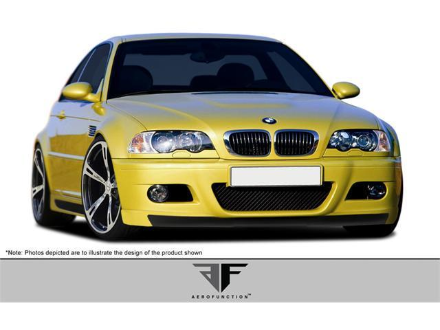 2001-2006 BMW M3 E46 2DR AF-2 Front Add-On Spoiler (GFK) 107887