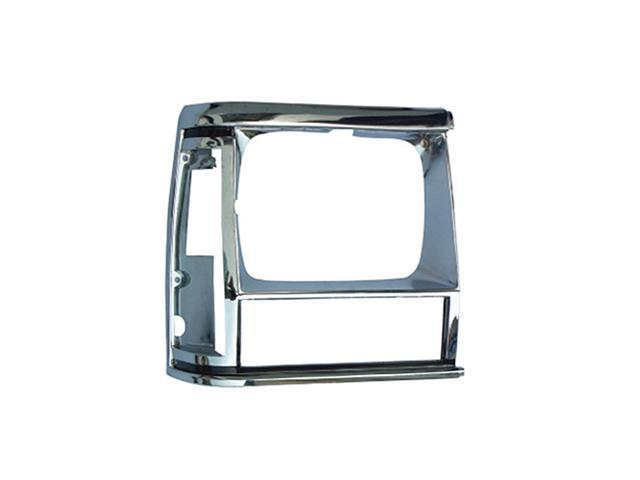 Omix-ada This chrome headlight bezel from Omix-ADA fits the right side on 84-01 Jeep XJ Cherokees. 12419.12