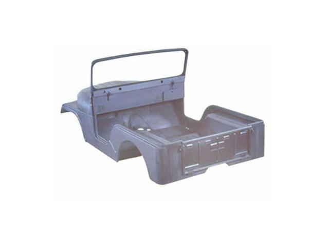 Omix-ada This reproduction steel body kit from Omix-ADA restores 55-68 Jeep CJ-5s. Includes the body tub, fenders, hood, windshield frame, and tailgate. 12001.10