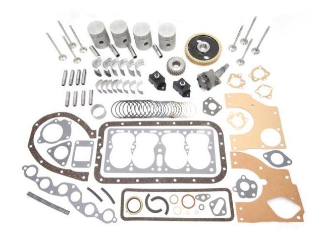 Omix-ada Engine Overhaul Kit (134 CI L-Head With Gear Driven Camshaft), 1945-1949 CJ2A, 1948-1953 CJ3A, 1950-1952 M38 17405.02