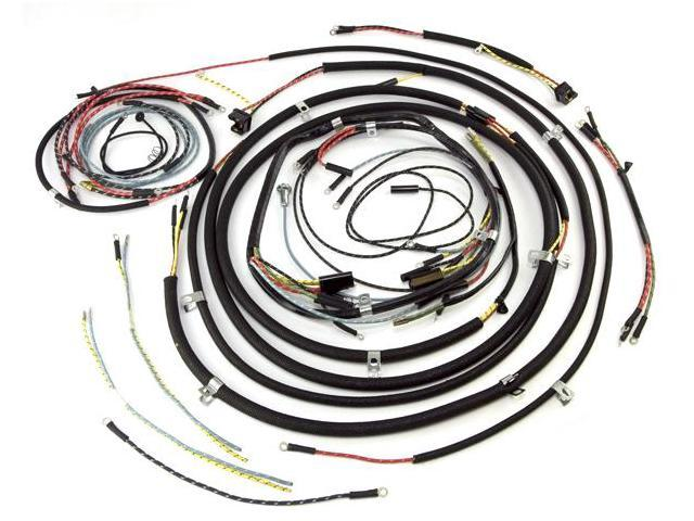 Omix-ada This complete wiring harness (with cloth wire cover) from Omix-ADA fits 53-56 Willys CJ-3Bs. 17201.07