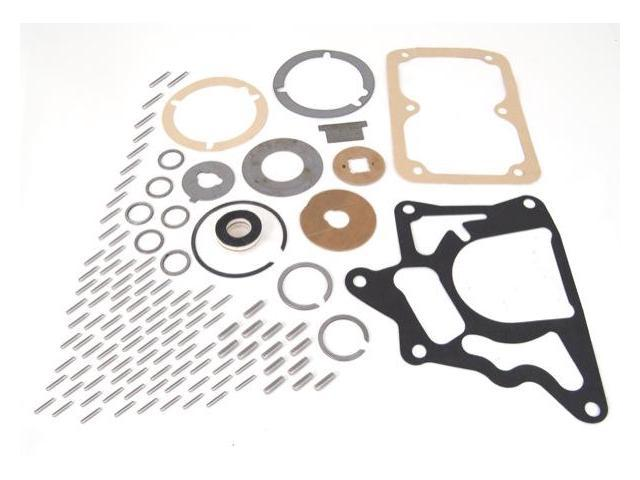 Omix-ada Transmission Service Kit, T90 Transmission, Jeep CJ2A 1948-1953. Includes: Gaskets, Needle Bearings, Thrust Washers, Snaps Rings and Reverse Idler Plate 18880.32