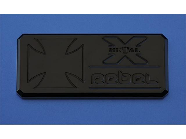 "T-REX  ""Rebel"" Series - Body Side Badges - 1 Pc - Black BLACK 6900011"