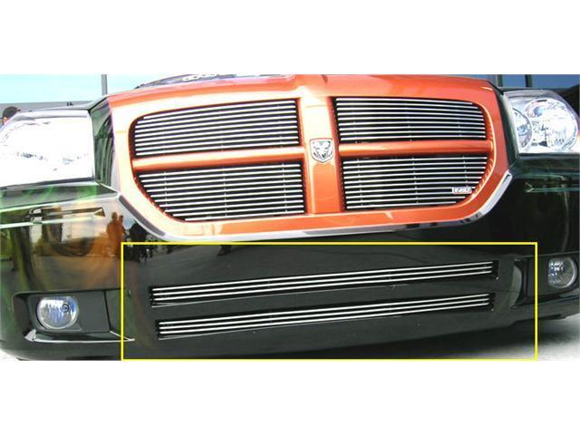 T-REX 2005-2007 Dodge Magnum (Except SRT) Bumper Billet Grille Insert - 2 Pc POLISHED 25473