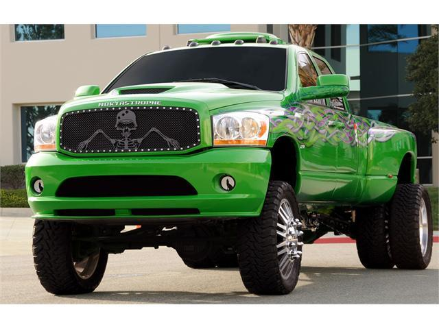 "T-REX 2006-2008 Dodge Ram PU URBAN ASSAULT ""GRUNT"" - Studded Main Grille w/ Soldier - Black OPS Flat Black - Custom 1 Pc ..."