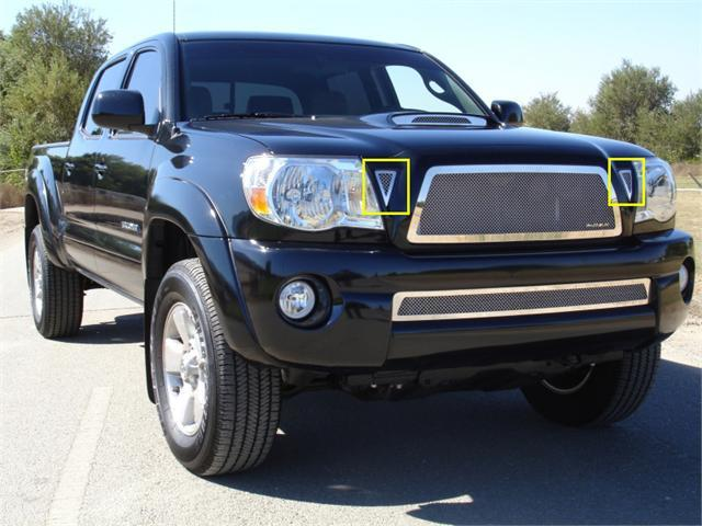 T-REX 2011-2011 Toyota Tacoma SS Side Vents - 2 Pc POLISHED 54937
