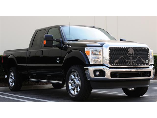 "T-REX 2008-2010 Ford Super Duty (All Models) URBAN ASSAULT ""GRUNT"" - Studded Main Grille w/ Soldier - Black OPS Flat Black ..."