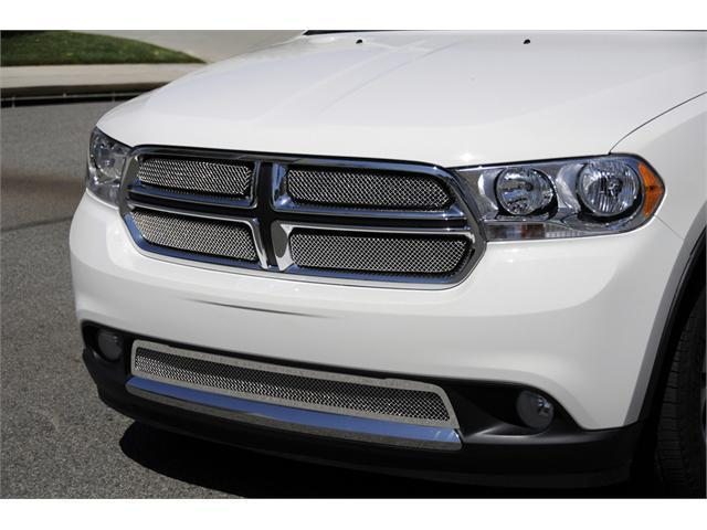 T-REX 2011-2011 Dodge Durango Sport Series Formed Mesh Grille - Stainless Steel - Triple Chrome Plated - 4 Pc CHROME 44491