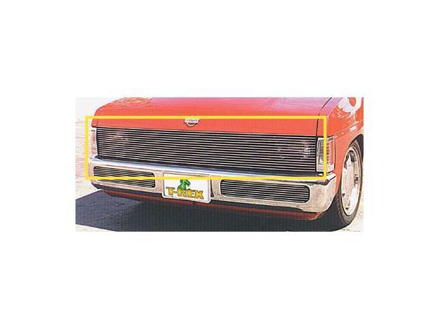 T-REX 1986-1997 Nissan Hardbody Phantom Grille Billet - H/Lamp Recess Needed (Custom Fabrication Required) POLISHED 20771