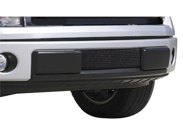 T-REX 2009-2012 Ford F-150 Upper Class Bumper Mesh Grille - All Black - With Formed Mesh BLACK 52569