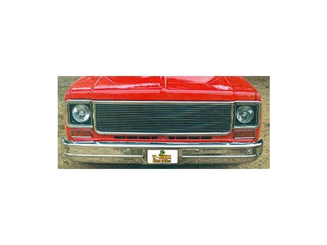 T-REX 1973-1980 Chevrolet Chevy/GMC PU Billet Grille Insert POLISHED 20005